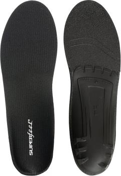 Superfeet Black Low Profile Versatile Shoe Insoles, UK 12-13.5