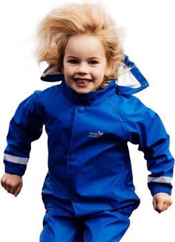 Muddy Puddles Rainy Day Kids Waterproof Jacket, 4-5yrs Royal Blue
