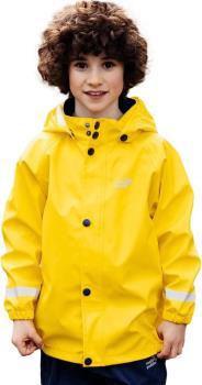 Muddy Puddles Rainy Day Kids Waterproof Jacket, 7-8yrs Yellow