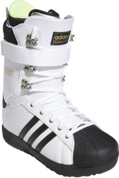 Adidas Superstar ADV Snowboard Boots, UK 8 White/Black 2022
