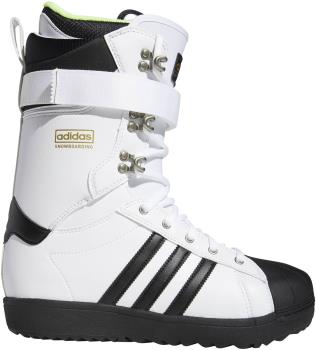 Adidas Superstar ADV Snowboard Boots, UK 9 White/Black 2021