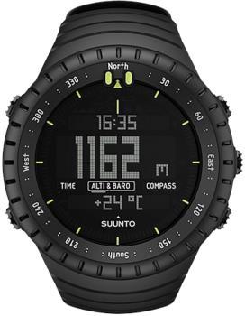 Suunto Core Multisport Compass Smartwatch, All Black