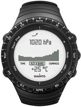 Suunto Core Multisport Compass Smartwatch, Regular Black