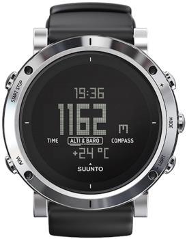 Suunto Core Multisport Compass Smartwatch, Brushed Steel