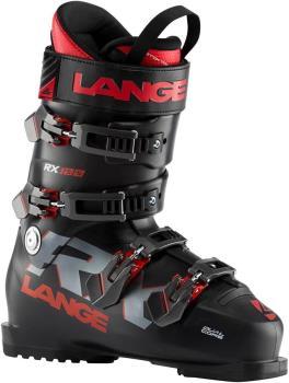 Lange RX 100 Ski Boots, 28/28.5 Black/Red 2021