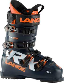 Lange RX 120 Ski Boots, 27/27.5 Blue/Orange 2021