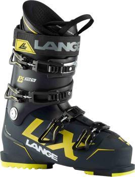 Lange LX 120 Ski Boots, 29/29.5 Blue/Yellow 2021