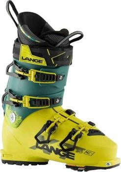 Lange XT3 110 Ski Boots, 27/27.5 Yellow/Green