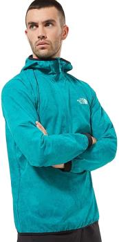 The North Face Adult Unisex Varuna Windshirt Men's Anorak, S Fanfare Green Grunge