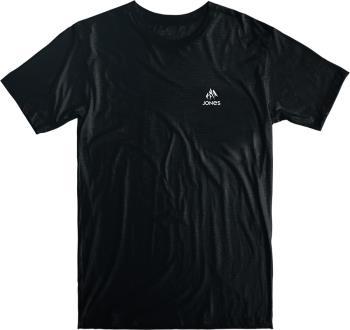 Jones Truckee Organic Cotton Plain Short Sleeve T-Shirt, S Black