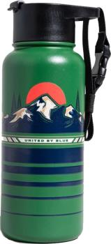 United By Blue Insulated Steel Water Bottle, 32oz Teal