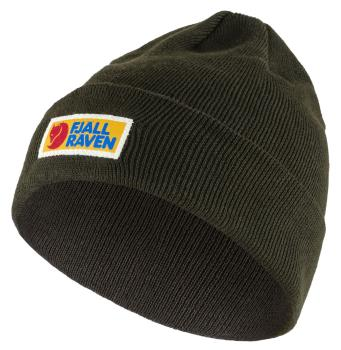 Fjallraven Vardag Classic Knitted Beanie Hat, OS Deep Forest