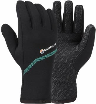 Montane Power Stretch Pro Grippy Women's Mountain Gloves, M Black