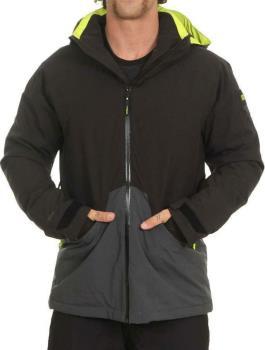 O'Neill Quartzite Ski/Snowboard Jacket, M Black Out