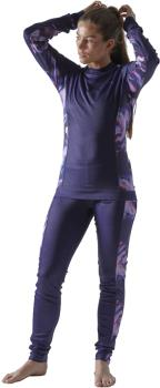 Craft Core Dry Women's Ski Thermal Baselayer Set, S Multi/Blueberry