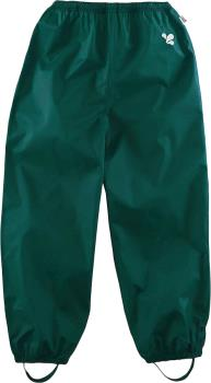 Muddy Puddles Originals Kids Waterproof Trousers, 3-4yrs Green