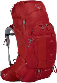 Osprey Ariel Plus 70 Women's XS/S Backpack, 68L Carnelian