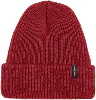 WANDRD Roadside Watch Cap Soft Knit Acrylic Cuffed Beanie, Red