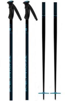 Kerma Adult Unisex Vector Box Eco Pair Of Ski Poles, 125cm Dark Blue