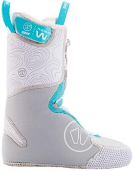 Sidas Central Women Thermoformable Ski Boot Liner, 25.5 White