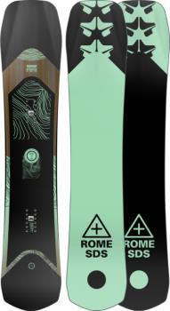 Rome Ravine Women's Hybrid Camber Snowboard, 147cm 2022