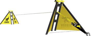Gibbon Independence Kit Classic Slacklining Frame Set, 15m