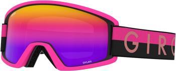 Giro Womens Dylan Black/Pink Throwback, Rose Spectrum Women's Ski/Snowboard Goggles, M