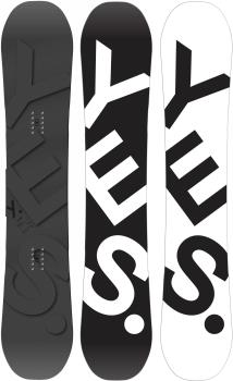 Yes. The Basic Hybrid Camber Snowboard, 155cm 2021