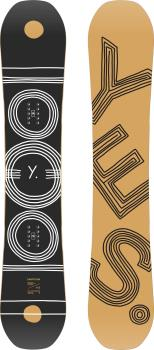 Yes. Emoticon Womens Hybrid Camber Snowboard, 146cm 2021