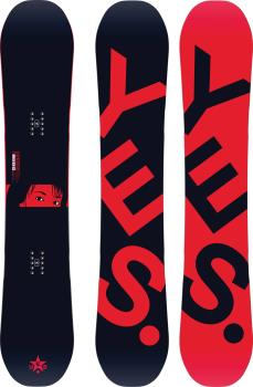 Yes. The Typo Hybrid Camber Snowboard, 161cm 2021