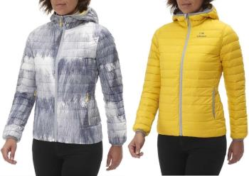 Eider Twin Peaks Reversible Women's Insulated Down Jacket, XS, Grey