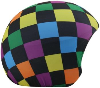 Coolcasc Printed Cool Ski/Snowboard Helmet Cover One Size Squares
