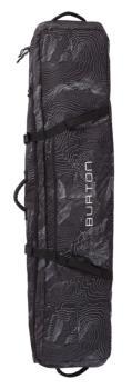 Burton Wheelie Locker Snowboard Bag, 156cm Black Mansfield Topo