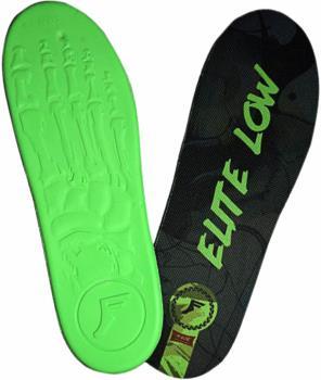 Footprint Kingfoam Elite Low Shock Protection Insoles UK 4-9 Green