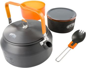 GSI Outdoors Halulite Ketalist 2 Ultralight Kettle & Cookset, 1L