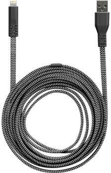 Lander Neve® Lightning USB Charging Cable, 10ft Black
