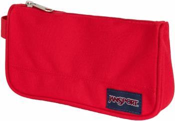 JanSport Medium Accessory Pouch Travel Organiser Bag, 0.8L Red Tape
