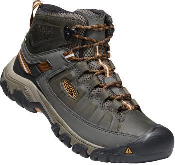 Keen Targhee III Mid WP Hiking Boots, UK 9 Black Olive/Brown