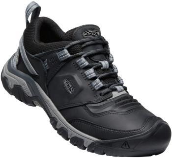 Keen Ridge Flex Waterproof Hiking Shoes, UK 12 Black/Magnet