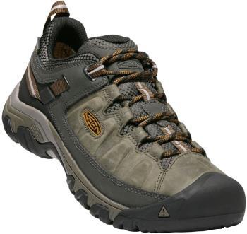 Keen Targhee III Waterproof Hiking Shoes, UK 7.5 Black Olive/Brown