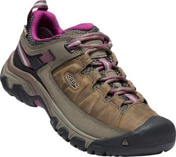 Keen Targhee III WP Women's Hiking Shoes, UK 4 Weiss/Boysenberry