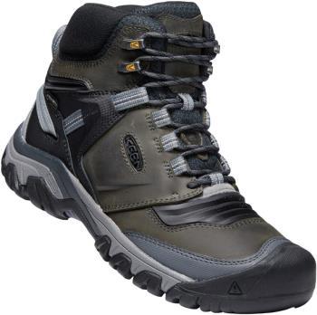 Keen Ridge Flex Mid Waterproof Hiking Boot, UK 12 Magnet/Black