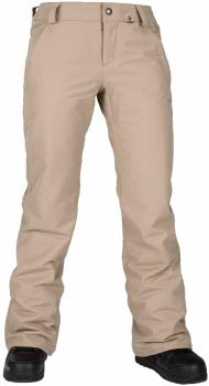 Volcom Frochickie Insulated Women's Snowboard/Ski Pants M Sand Brown