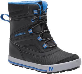 Merrell Snow Bank 2.0 WTPF Kid's Winter Boots, UK Child 10 Black