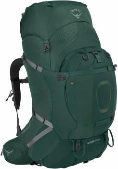 Osprey Aether Plus 85 S/M Expedition Backpack, 83L Axo Green