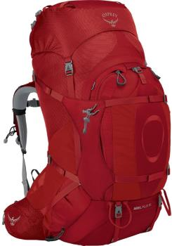 Osprey Ariel Plus 85 Women's XS/S Expedition Backpack 83L Carnelian