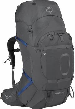 Osprey Aether Plus 70 L/XL Expedition Backpack, 70L Eclipse Grey