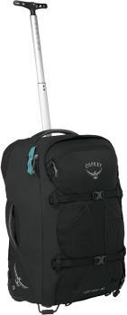 Osprey Fairview Wheels 36 Women's Wheeled Bag/Suitcase, 36L Black