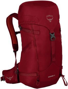 Osprey Skarab 34L Hiking Backpack, Mystic Red