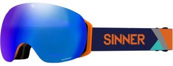 Sinner Avon OTG Blue Sintrast Ski/Snowboard Goggles M Matte Orange
